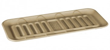 Compostable Wheatstraw Catering Tray