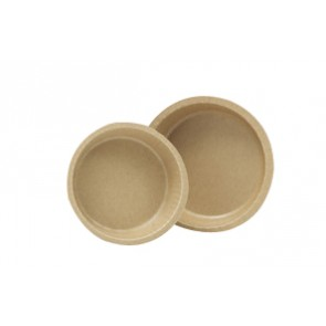 10 oz. Natural Kraft Corrugated Baking Cups