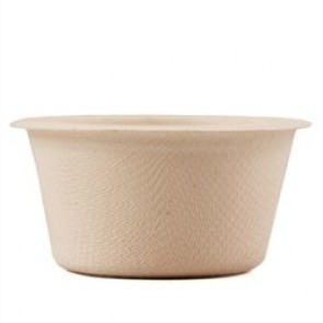 2 oz. Plant Fiber Biodegradable Compostable Portion Cup