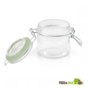 3.4 oz Mini Glass Seal Jars