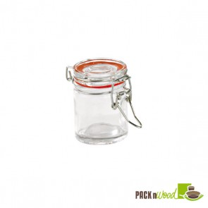 1.5 oz Mini Glass Seal Jars