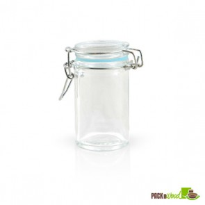 2.2 oz Mini Glass Seal Jars