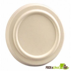 Lid for 12 & 16oz Sugarcane Soup and Ice Cream Bowl