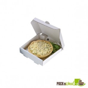 Mini Paper Pizza Box - 3.5 x 3.5 x 0.8
