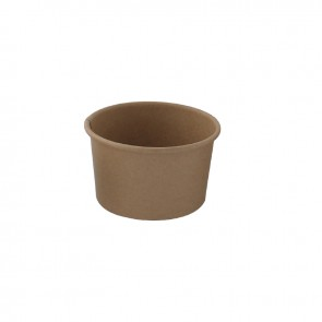 Brown Kraft Hot & Cold Biodegradable Paper Cup 5oz