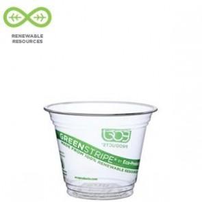9oz Corn Plastic Cold Drink Squat Cups EP-CC9S-GS