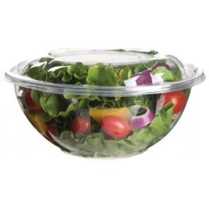24oz PLA Salad Bowl with Lid