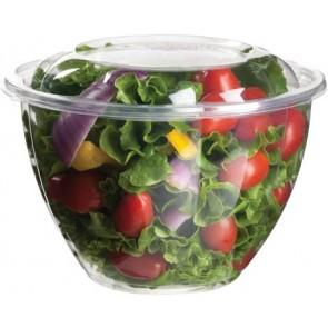 48 oz. PLA Salad Bowl with Lid