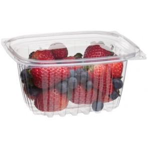 16oz Rectangular Corn Plastic Deli Food Containers