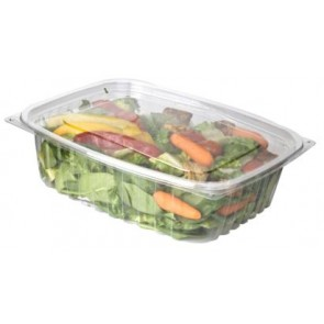 48oz Rectangular Corn Plastic Deli Food Containers