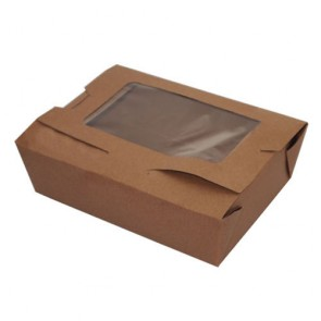 BioPlus View Recycled Take Out Container