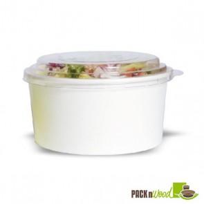 BUCKATY 32oz Recyclable Paper Bucket - White
