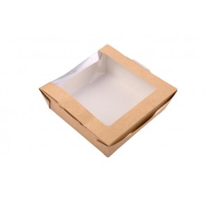 Large Kraft Box w/ Clear Window
