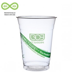 12oz Biodegradable Corn Plastic Cold Cups