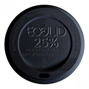 Ecolid® 25% Recycled Content Hot Cup Lid