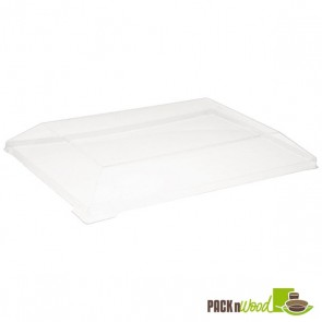 Clear Lid for Samurai - Rectangular Wooden Dish - 5.1 x 2.5 x 0.79 in.