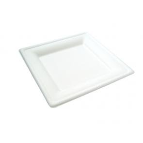 "8"" Square Bagasse Plate"