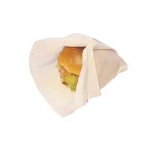 """9.75 x 13"""" Wax-Coated Burger Wrap"""