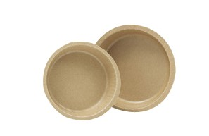 10 oz. Natural Kraft Corrugated Baking Cups