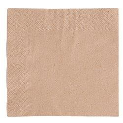 """9.5"""" 2-Ply, Unbleached Cocktail Napkin"""