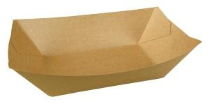 3 lb. Natural Kraft Food Trays