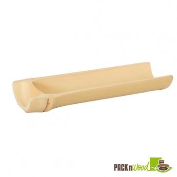 OSAKA - Half circular Bamboo Dish - 4.5 x 1.4 in.
