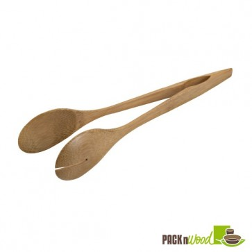 Bamboo Serving Tongs - 9.84 in.
