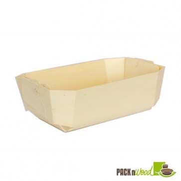 Wooden Baking Mold - 7 x 4.3 x 2.3 in.
