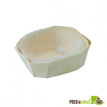 MINIMI - Wooden Baking Mold - Top: 1.5 x 1.1 x 1.1 in.
