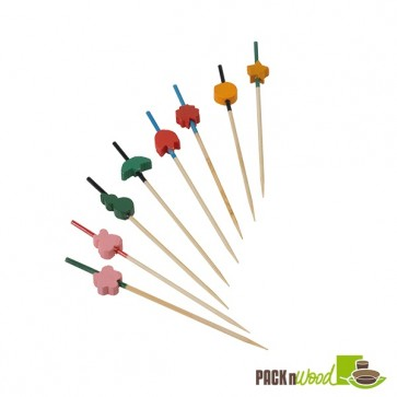 Bamboo Art Skewers - 3.5 in.