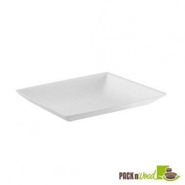 "Recyclable Clear Lid for ""Bio 'n' Chic"" Mini Sugarcane Plate - 3.54 in."