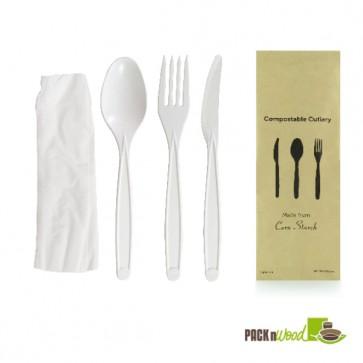 4 piece Cutlery Kit - 7 in.
