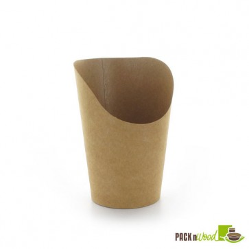 Kraft Mini Fries Wrap Cup - Recyclable