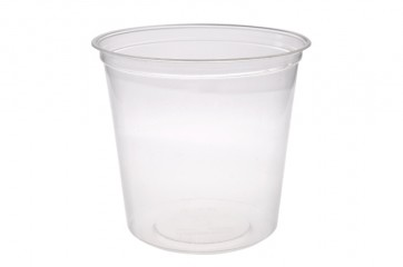 Compostable 24oz PLA Deli Container