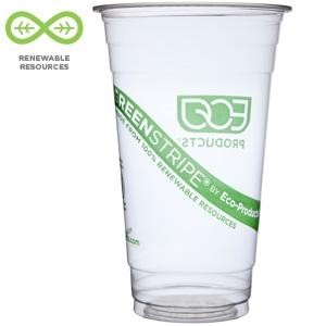 24oz Corn Plastic Cold Cups EP-CC24-GS