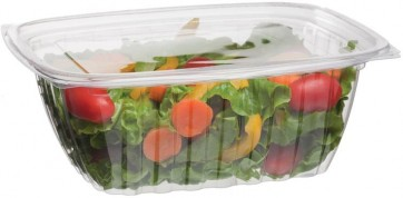 32oz Rectangular Corn Plastic Deli Food Containers