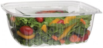 64oz Rectangular Corn Plastic Deli Food Containers