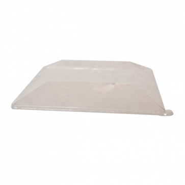 Clear Lid for Square Plate - 6.2 x 6.2""