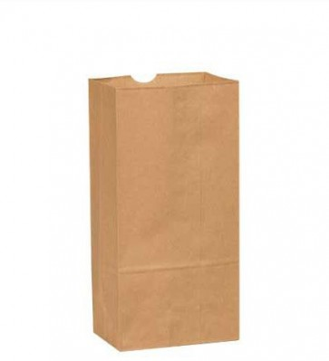 8 lb. Duro  Brown Paper Grocery Bags, 2000 per Case