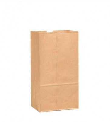 6 lb. Duro Brown Paper Bags, 2000 per Case