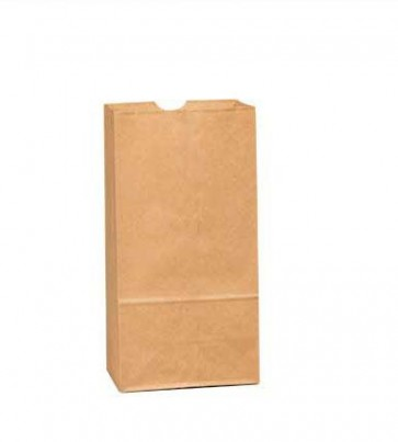 4 lb. Duro Brown Paper Bags, 4000 per Case