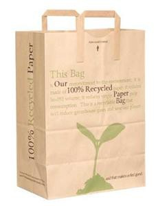 Duro 100% Recycled #70 Handle Bag, 300 per Case