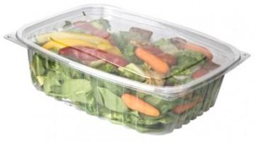 48oz Rectangular Corn Plastic Deli Food Containers