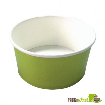 BUCKATY 32oz Recyclable Paper Bucket - Green