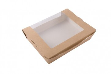 Medium Kraft Box with Clear Window