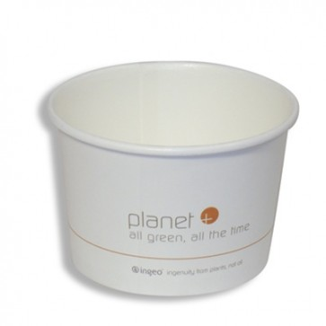 16 oz. Planet + Biodegradable Food Container / Soup Cup / Ice Cream Cup