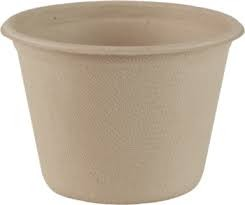 4oz. Plant Fiber Biodegradable Compostable Portion Cup