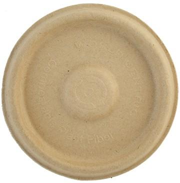 4 oz. Plant Fiber Biodegradable Compostable Portion Cup Lid