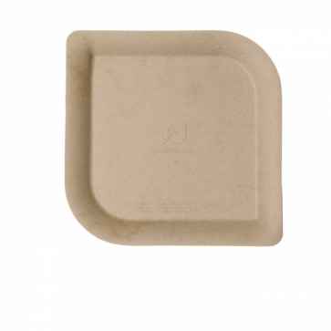 Dahlia Sugarcane and Bamboo Plate - 6in