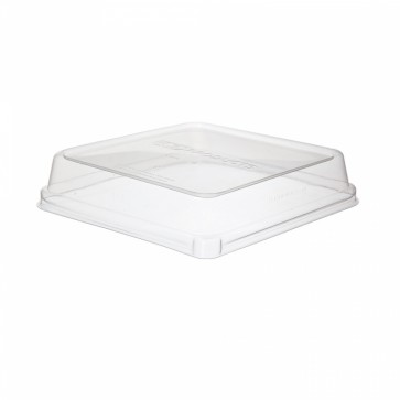 "WorldView Lid for 8"" Square Take Out Container"